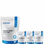 Προσφορά Myprotein Impact Whey 2,500 Gr+Myprotein Glutamine 250 Gr+Myprotein Bcaa 250 Gr+Myprotein Creatine Monohydrate