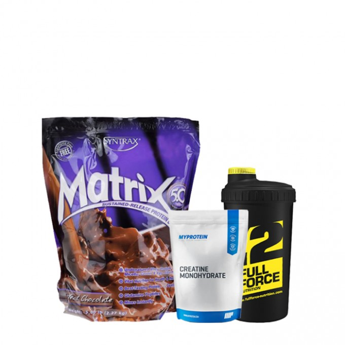 Προσφορά όγκου Syntrax Matrix 2.270 Kg + My Protein Creatine 250gr + Shaker