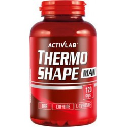 Λιποδιαλύτης Activlab Thermo Shape Man 120caps