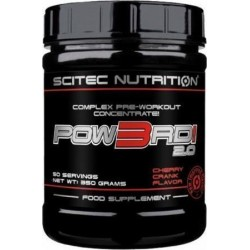Νιτρικό Scitec Nutrition - Pow3Rd! 2.0 Complex Pre-Workout Concentrate 230Gr