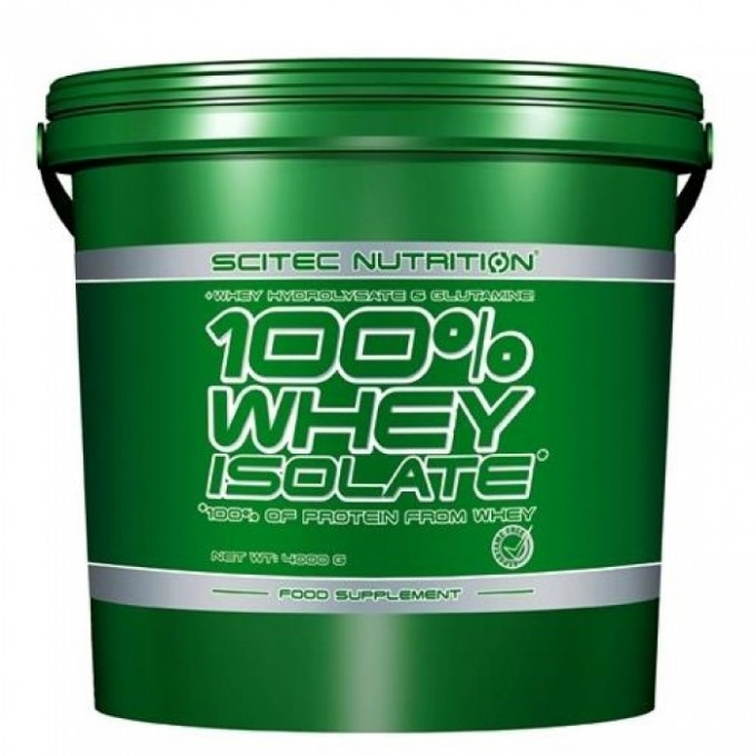 Πρωτεΐνη Scitec - 100% Whey Isolate 4000Gr