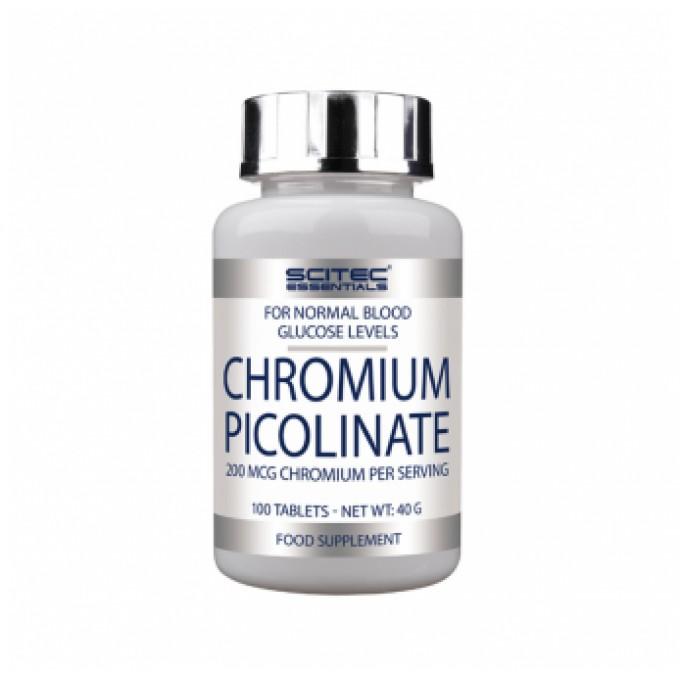 Χρώμιο Scitec Chromium Picolinate 100Tabs
