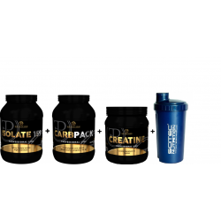 Προσφορά Recovery Stack - Pf Isolate + Carbpack + Creatine Monohdrate + Shaker