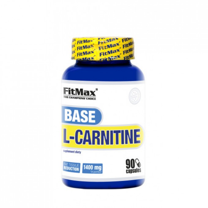 Λιποδιαλύτης Fitmax Base L-Carnitine 60 Caps