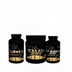 Προσφορά Pf Nutrition Fat Burner Shot 100Tabs + Carni Fit 100Tabs + Bcaa 8-1-1 400Gr
