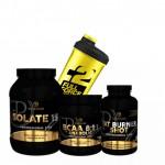 Προσφορά Pf Nutrition Isolate 159 908Gr + Bcaa 8-1-1 500Gr + Fat Burner Shot 100Tabs + Δωρο Shaker