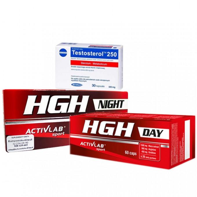 Προσφορά Activlab Night 60Caps + Day 60Caps + Megabol Testosterol 250 33Caps