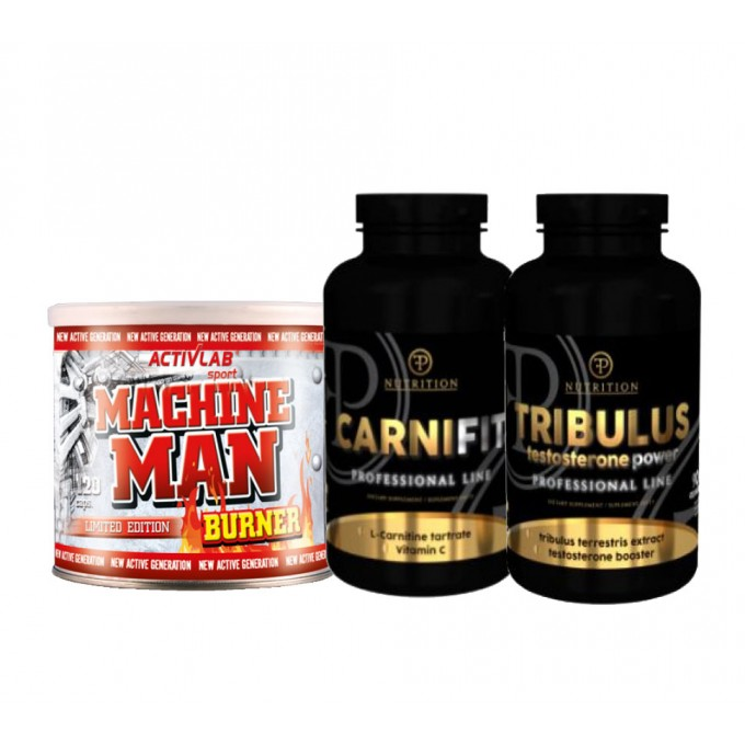Προσφορά Activlab Machine Man 120Caps + Pf Nutrition Carnifit 100Caps + Pf Nutrition Tribulus 90Caps