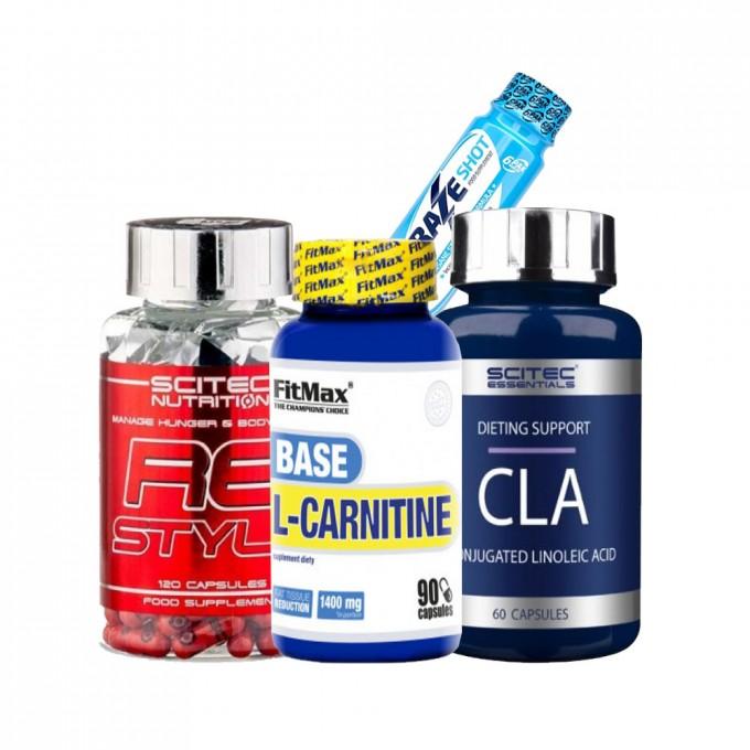 Προσφορά Scitec Rs-Style 120Caps + Fitmax Carnitine Base 90Caps + Scitec CLA 60Caps + 6Pak Craze shot
