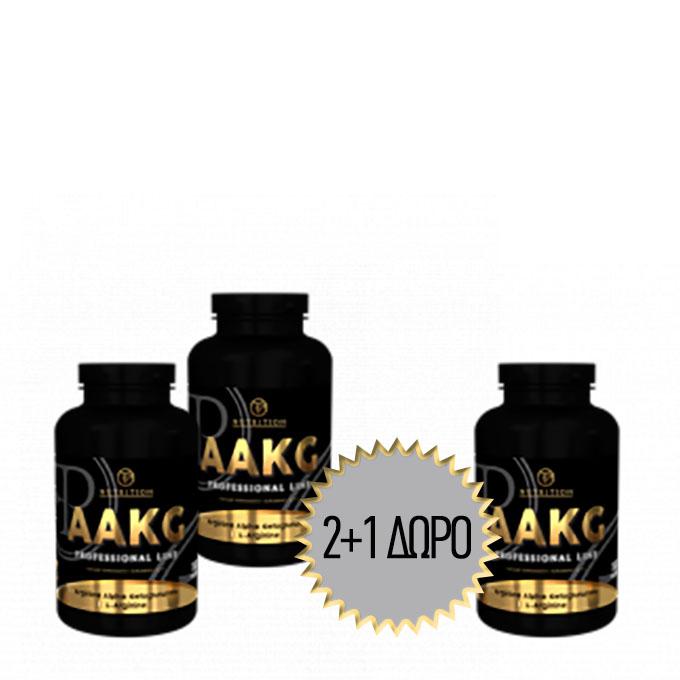 Προσφορά Pf Nutrition - Aakg - 180 Caps - 2+1 Δωρο