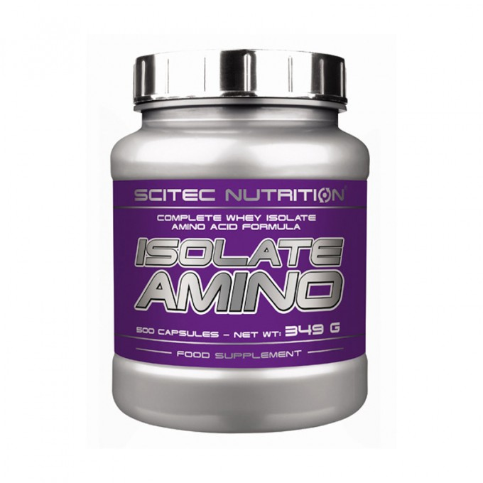 Αμινοξέα Scitec Nutrition - Isolate Aminos - 250 Caps