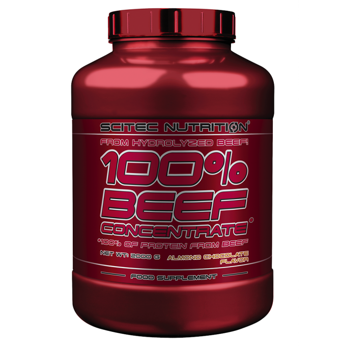 Πρωτεΐνη Scitec Nutrition 100% Beef Concentrate & Hydrolyzed 2000gr