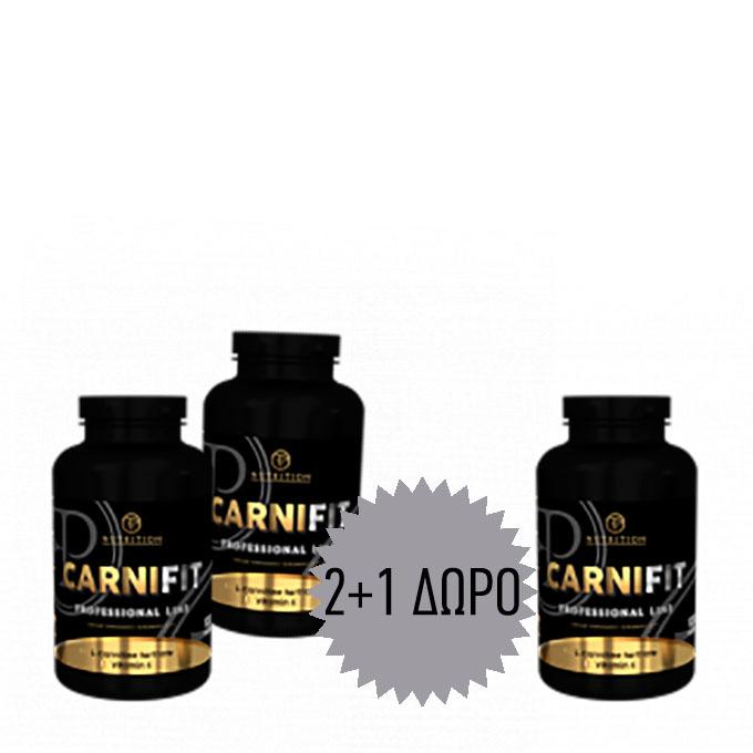 Προσφορά Pf Carnitine  - 100 Caps 2+1 Δωρο
