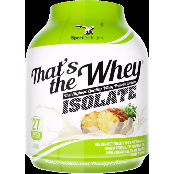 Πρωτεΐνη Sport Definition - That S The Way - Isolate 90%