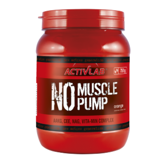 Νιτρικό Activlab - No Muscle Pump - 750 Gr