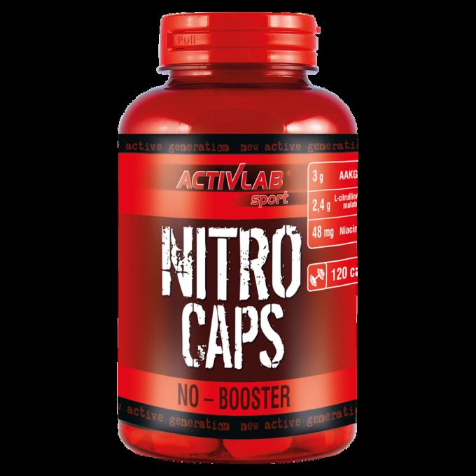 Νιτρικό Αctivelab - Nitrocaps - 120 Caps