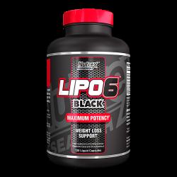 Λιποδιαλύτης Nutrex Lipo-6 Black 120 Caps