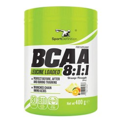 Αμινοξέα Sport Definition - Bcaa - 8-1-1 - Leucine Loaded - 400 Gr