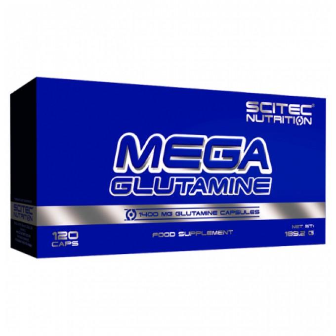 Γλουταμίνη Scitec Nutrition - Mega Glutamine - 120 Caps