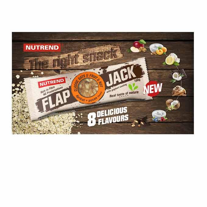 Μπάρα Πρωτεΐνης Nutrend - Flapjack 100Gr