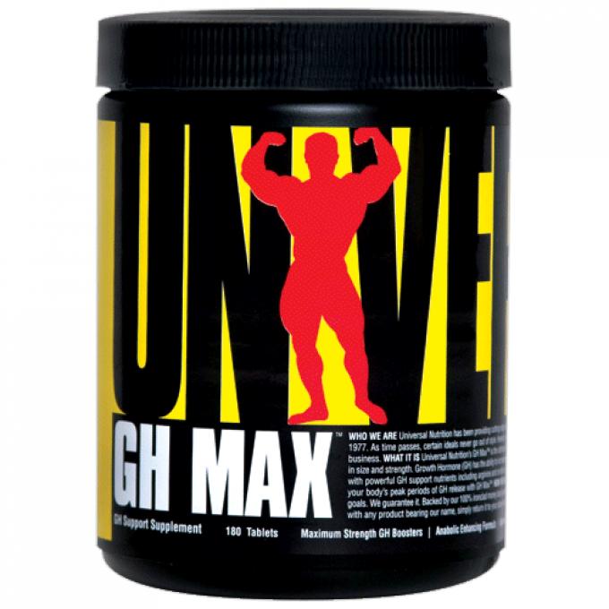 Ενίσχυση ορμονών Universal Gh Max 180tabs - 30 Servings
