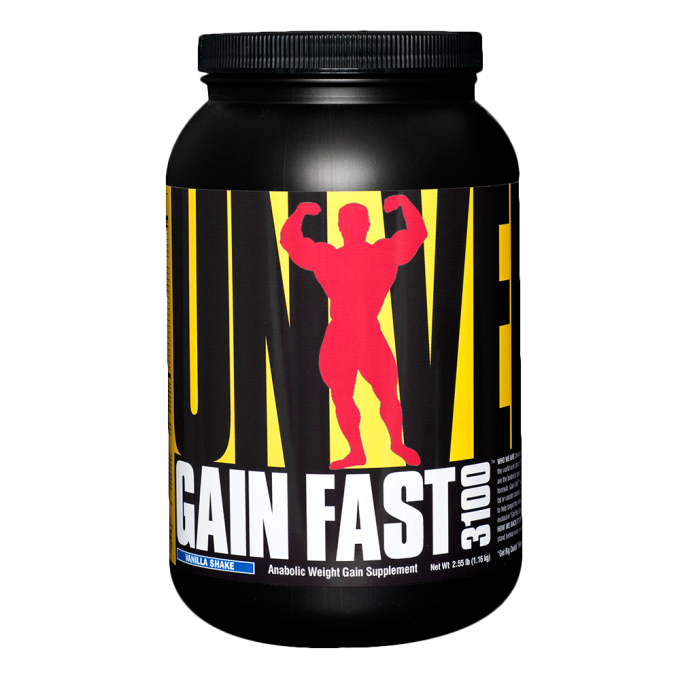 Αύξηση Μυϊκής Μάζας Universal Nutrition Gain Fast  3100 2300gr - 10 Servings