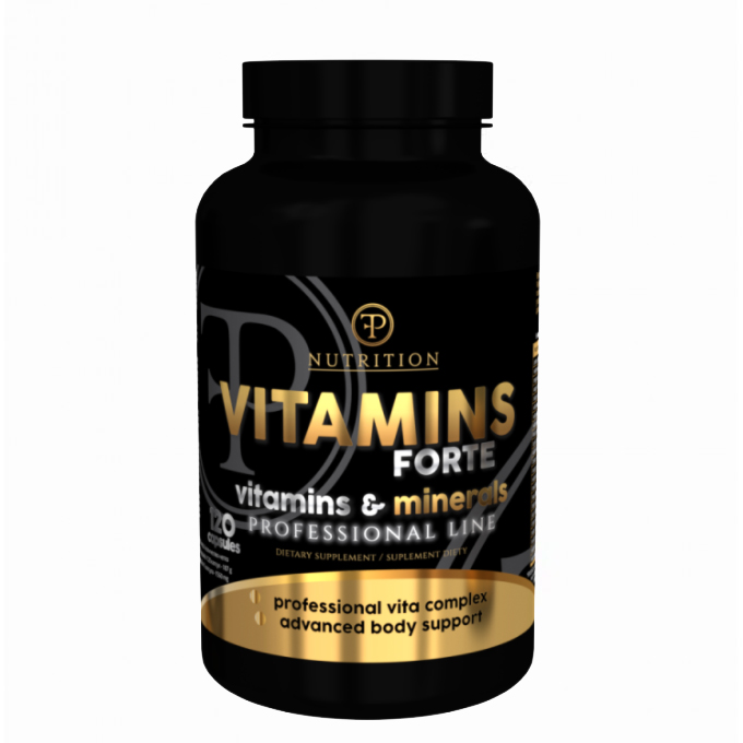 Vitamins Forte caps 120 tabs Pf Nutrition
