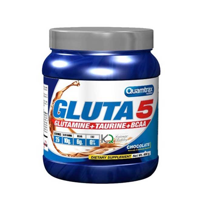 Γλουταμίνη Quamtrax Gluta 5, 400Gr