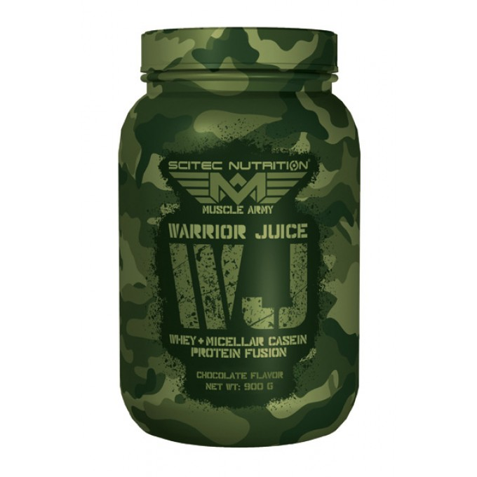 Πρωτεΐνη Scitec Warrior Juice 900Gr