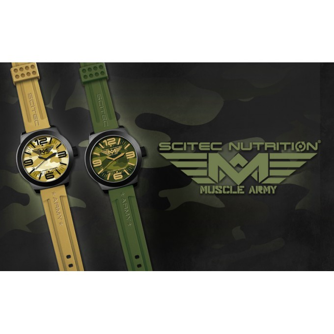 Ρολόι Scitec Watch - Muscle Army Desert Colour
