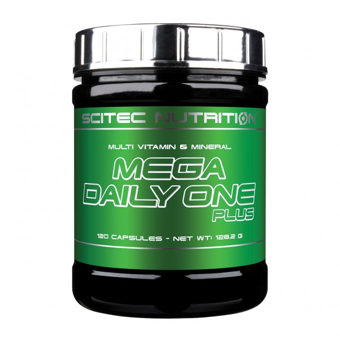 Βιταμίνες  Scitec Mega Daily One Plus 120 Caps