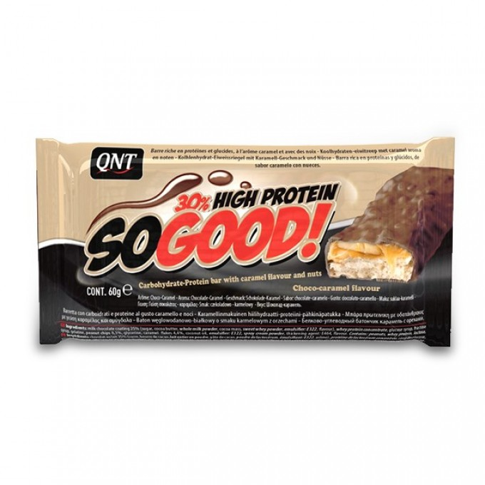 Μπάρα Πρωτεΐνης Qnt 30% High Protein So Good Bar 60Gr