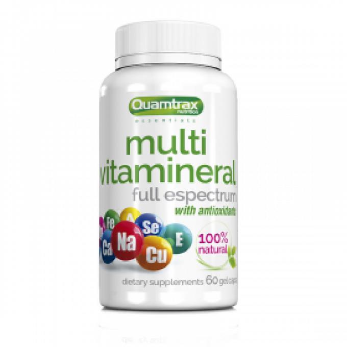 Βιταμίνες - Μέταλλα Quamtrax Multivitamineral 60 Caps