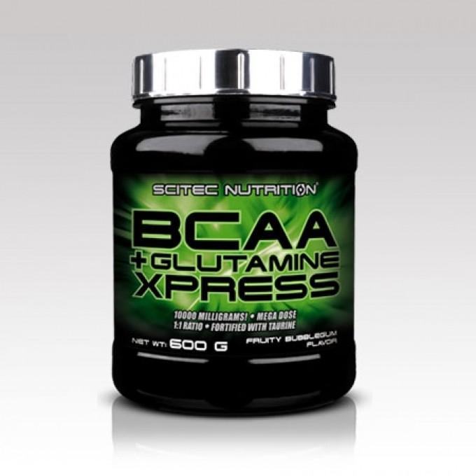 Αμινοξέα - Γλουταμίνη Scitec Bcaa + Glutamine Xpress 600Gr