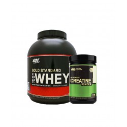 Προσφορά ON Gold Standard Whey 2273gr + ON Creatine 300gr