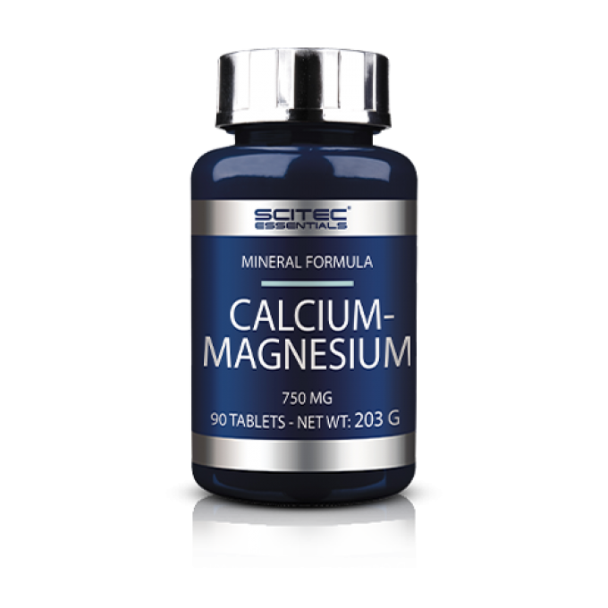 Μέταλλα Calcium-Magnesium 90Tablets 750 Mg