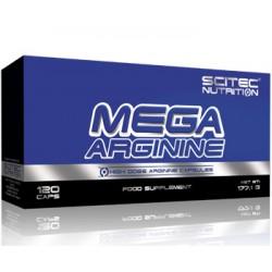 Νιτρικό Scitec - Mega Arginine 120Caps