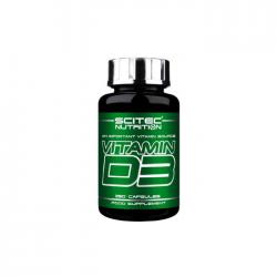 Scitec Vitamin D3 250caps 480iu
